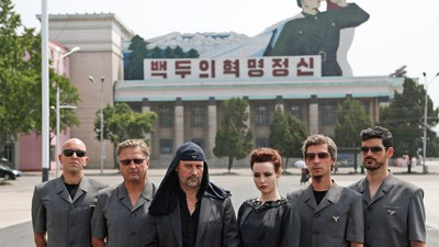 The Industrial Rock Band Laibach Performed in North Korea Last Month