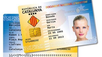 Observad el nuevo DNI catalán