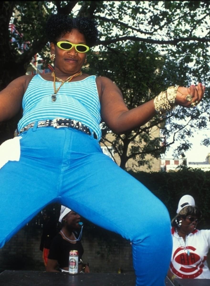 Treinta años de carnaval de Notting Hill en fotos