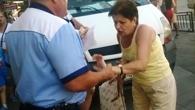 Un polițist bucureștean m-a certat că sunt din provincie