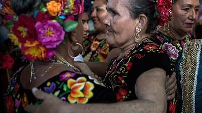 Cerveza y huevos de tortuga en el Baile del pescado del Istmo de Tehuantepec