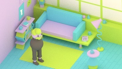 A Man's Furniture Comes Alive in This Week's Comic from Julian Glander