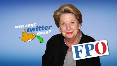 Was sagt Twitter zum FPÖ-Wechsel von Ursula Stenzel