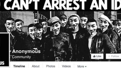 Wirre Anonymous-Seite erklärt Heidenau-Randale zu linksradikaler Inszenierung