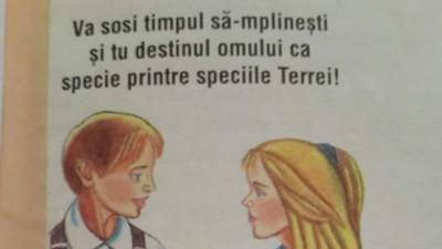 Manualele școlare românești te învață că femeia trebuie să stea la cratiță