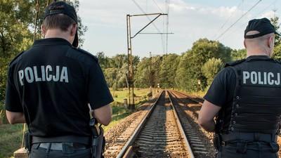 Zona în care s-ar afla trenul de aur nazist a luat foc