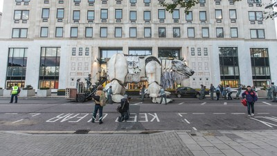 I Spent 24 Hours with Greenpeace on Their Latest Illegal London Action