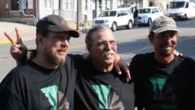 Este tipo acaba de ser libertado depois de passar 20 anos na prisão por vender erva