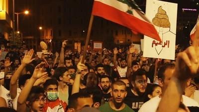 """""""Puzzate"""": la protesta di Beirut"""