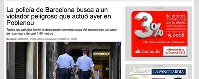 Según La Vanguardia hay violadores peligrosos y otros que no lo son