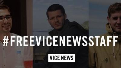 Turkije laat twee van de drie VICE News-journalisten vrij