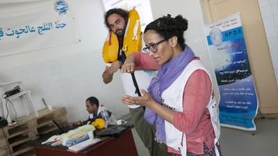 Crecen las iniciativas de rescates en el Mediterráneo