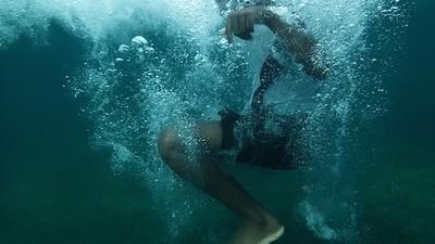 Fotos submarinas de los jóvenes del Caribe