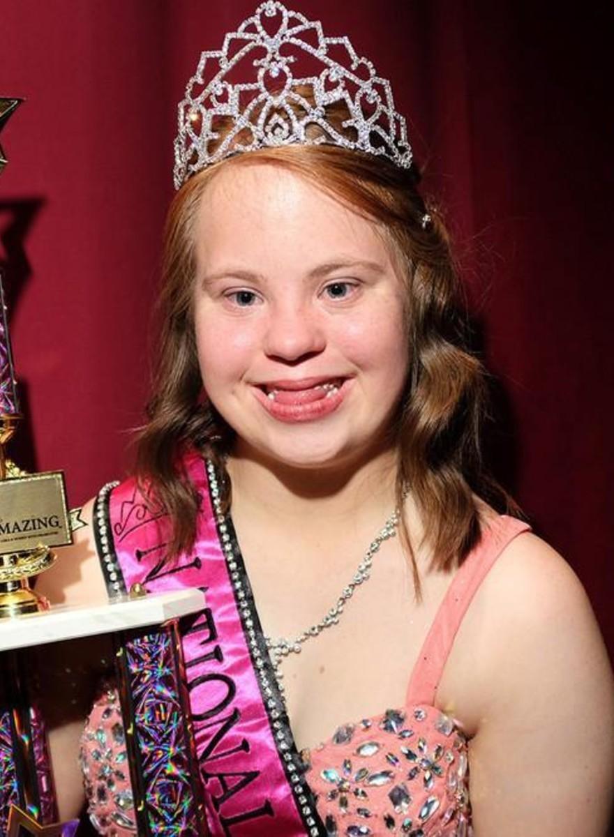 Fotos von Miss Amazing, dem Schönheitswettbewerb der Special Olympics