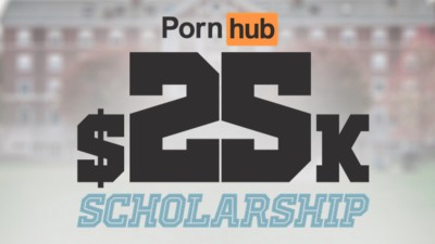 Will Pornhub's $25,000 Scholarship Convince People the Smut Site Is a Force for Good?