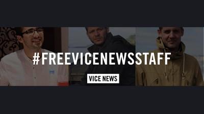 A Turquia liberta dois dos jornalistas da VICE News, mas um terceiro continua detido