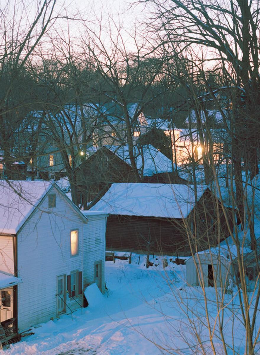 Fotos vom Kleinstadtleben in Catskill, New York