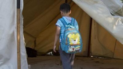 Ik bracht een dag door in een Grieks vluchtelingenkamp