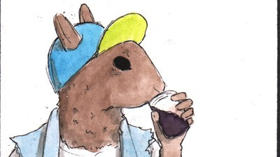 Punk Animals Drink the Flies in Their Wine in Today's 'Habits' Comic