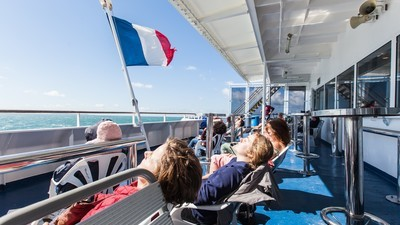 I Tried to Enjoy 24 Hours of Hedonism on an English Channel Ferry