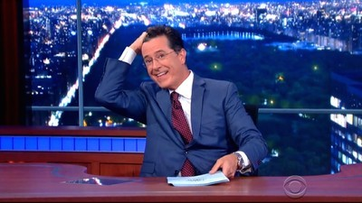 Stephen Colbert's Transition into the 'Real' Stephen Colbert Has Begun