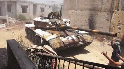 Maschinengewehre und Fassbomben: Der Kampf um den Süden Syriens (Teil 1)