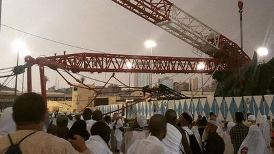 Everything We Know So Far About the Deadly Crane Collapse in Mecca