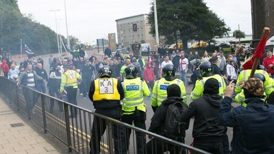 We Watched Nazis Fight Anti-Fascists in England on Saturday