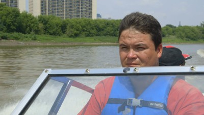 On Winnipeg's Red River with the Searchers Looking for Their Missing Relatives