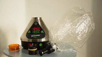 Marihuana vaporizada o cómo colocarse sin fumar