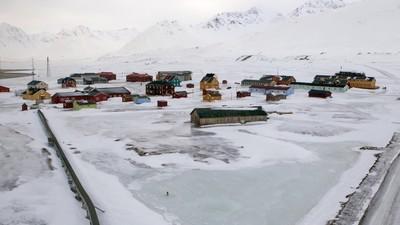 Een bevroren Noorse archipel zou een nieuw thuis kunnen zijn voor Syrische vluchtelingen
