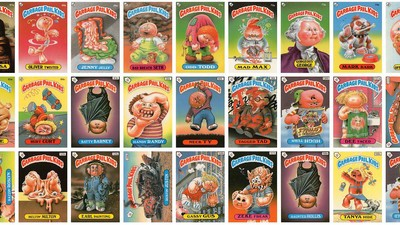 The Garbage Pail Kids Are Still Horrifying Parents 30 Years After Emerging from Trash Cans