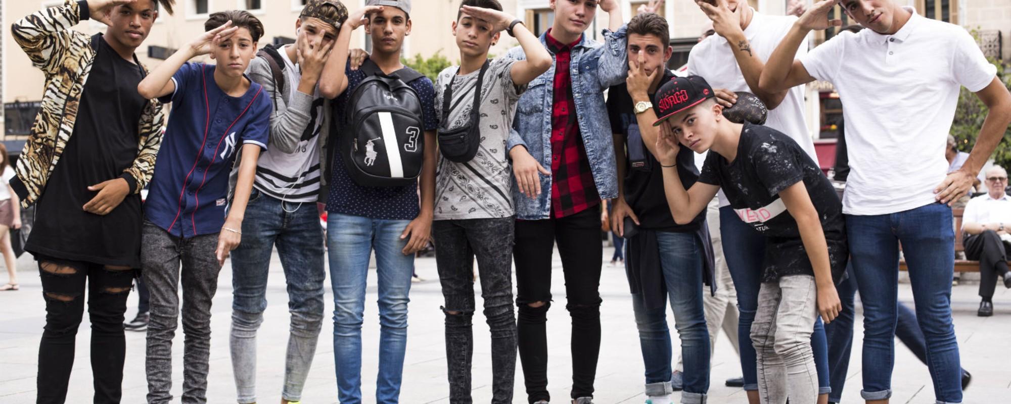 Así son los swaggers de la Plaza de la Ópera de Madrid