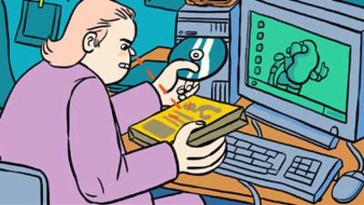 Michael Meets Virtual Lisa in This Week's 'Michael' Comic