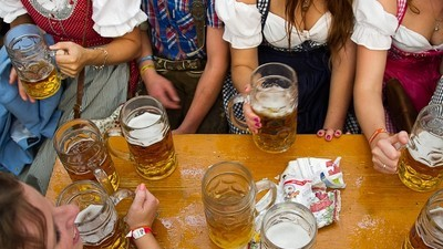 A Day in the Life of an Oktoberfest Beer Maid