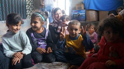 Meeting the Syrian Refugees Leaving Lebanon for Europe