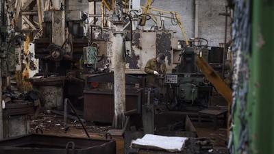 Mad Max in Kiew: Zu Besuch in einer ukrainischen DIY-Panzerfabrik