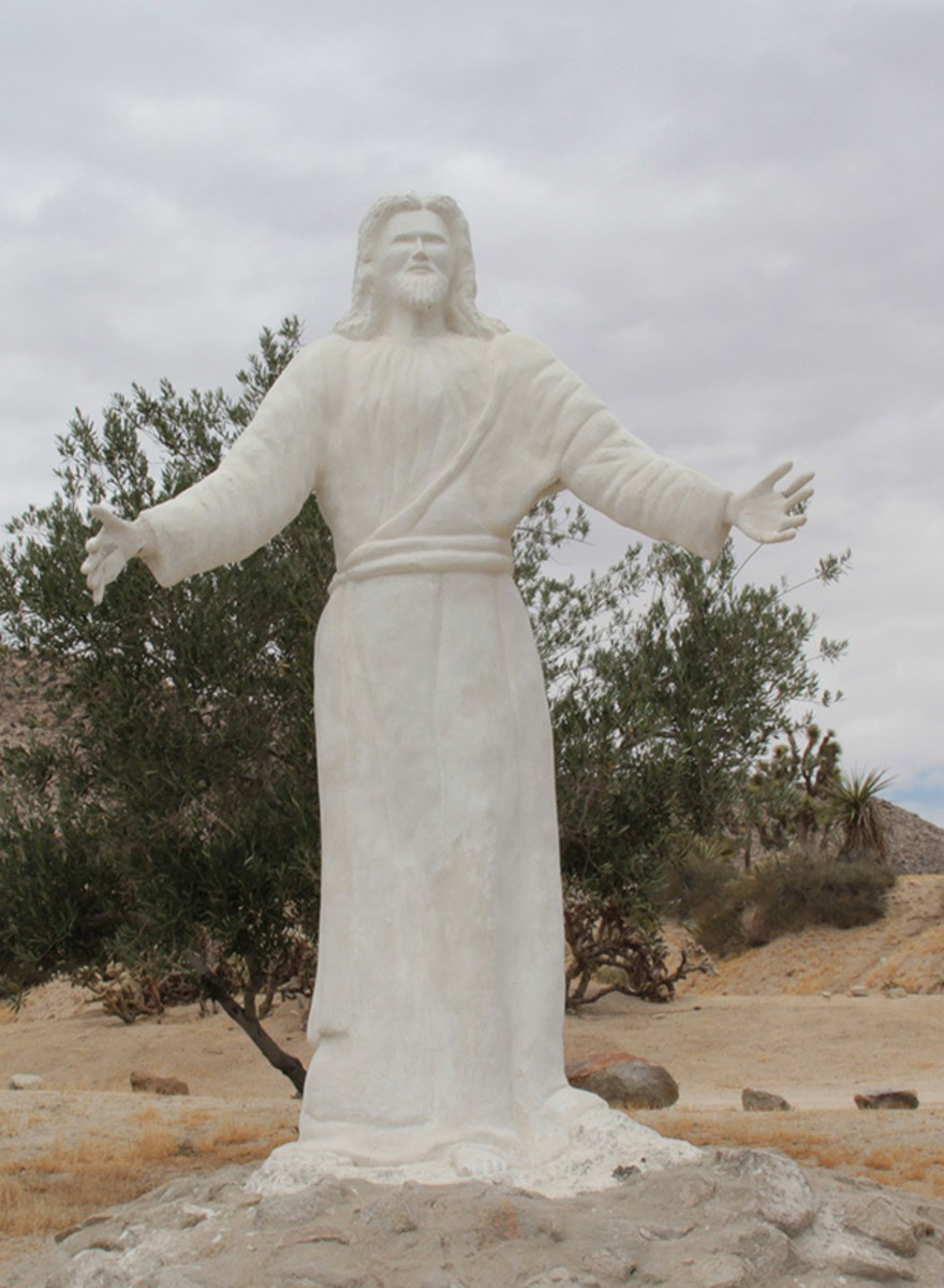 Photos of Jesus Christ, Rotting in the Desert