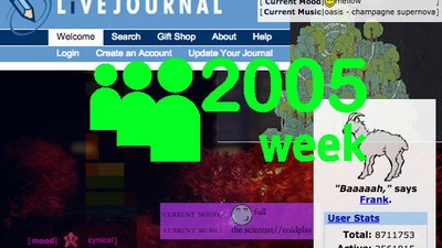 What Your Old LiveJournal Music Says About You