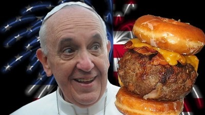 The Portable Pope: An Infallible Guide to America for God's Main Dude