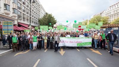 Aktivisten machen Abtreibungsgegnern einen Strich durch die Rechnung