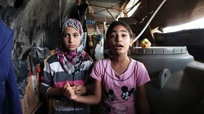 De vluchtelingenkampen in Libanon zijn de hel op aarde