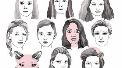 Esta ilustradora dibuja a las chicas de las películas de Wes Anderson