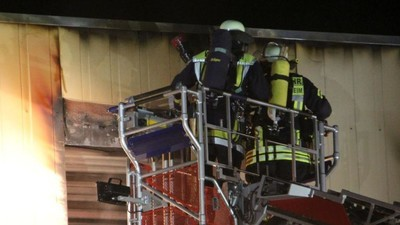 Planned Shelter for Migrants in Germany Burns in Suspected Arson Attack