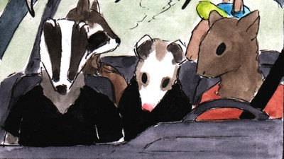 The Punk Animals Are Stuck in the Clown Car to Hell in This Week's 'Habits' Comic
