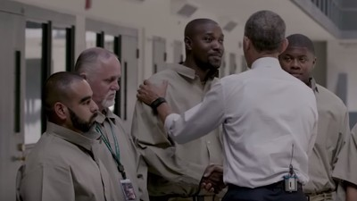 Watch the Moment President Obama First Meets Federal Inmates