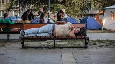 Met vluchtelingen mee door de benarde Balkan