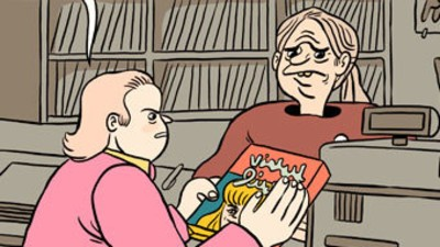 Michael Breaks Up with Virtual Lisa in This Week's 'Michael' Comic