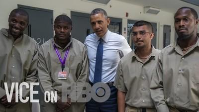 Urmărește-l pe președintele Obama cum întâlnește pentru prima dată pușcăriași