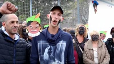 De Nederlandse cultuur is zelden zo goed vastgelegd als in dit filmpje van Zwarte Piet-voorstanders